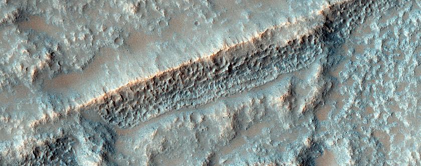 Terra Sirenum Flood Lavas