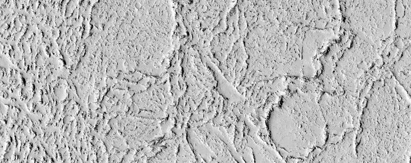 Screebageyn Strooghyn Lava ayns Elysium Planitia