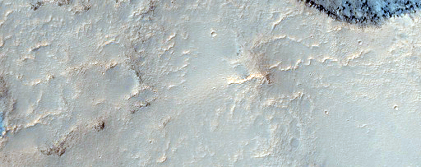 Crater in Typical Gully Latitudes