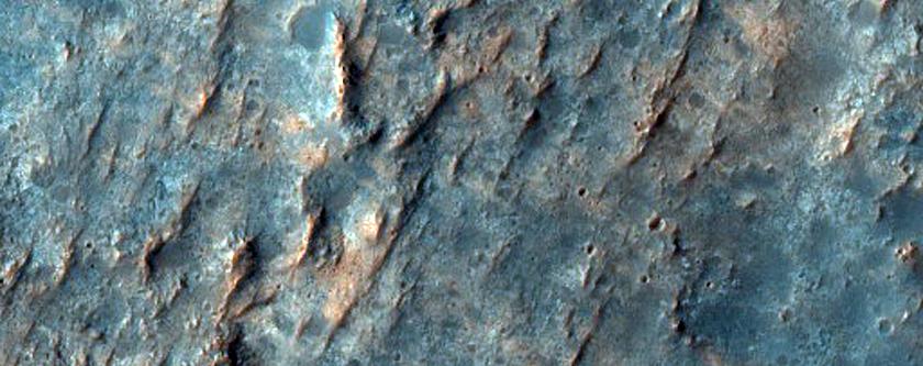 Smectite Deposits in Northwest Hellas Region
