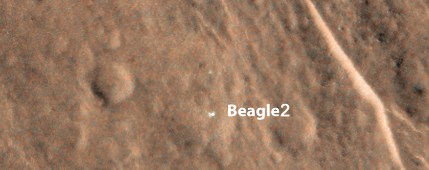 Finding Beagle 2
