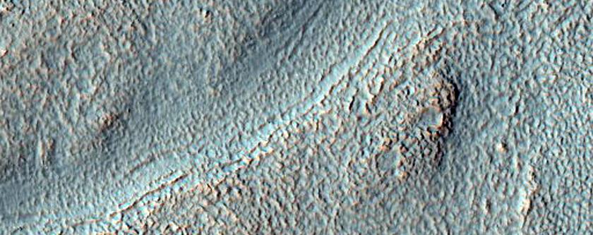 Quasi-Circular Landform Associated with Curvilinear Valley
