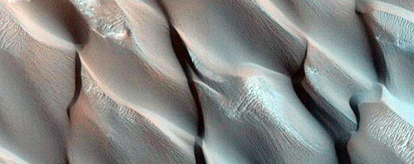 Dune Monitoring in Bopolu Crater