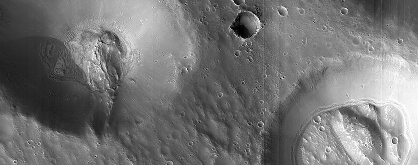 Craters Near Nilokeras Scopulus