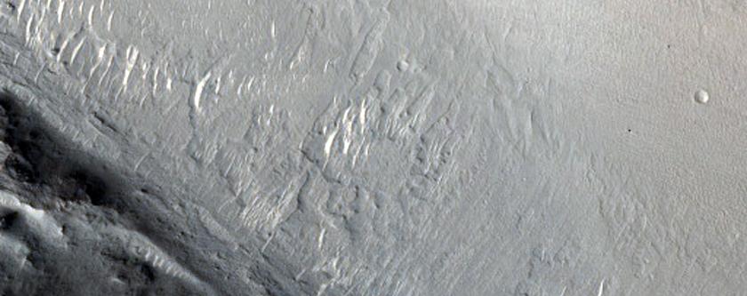 Blocks on Edge of Isidis Planitia