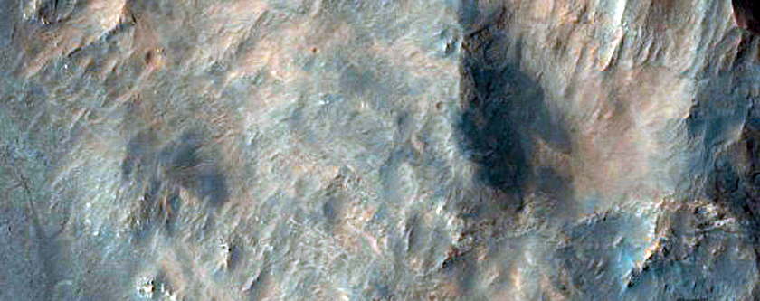 Monitoring Change in Holden Crater