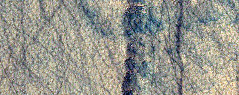Rough Terrain South of Hellas Planitia
