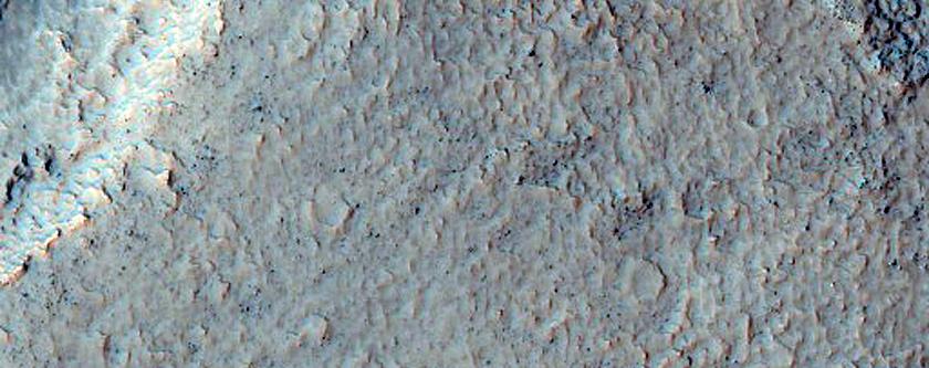 Oxbow-Like Feature along Channel in Terra Sirenum