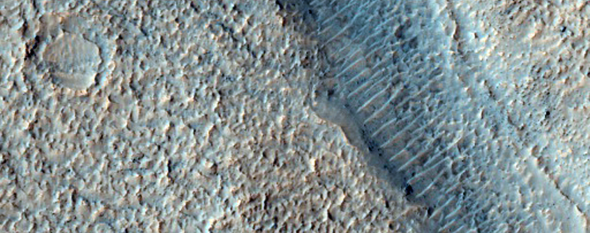 Intercrater Sinuous Valleys with Fan-Shaped Landforms at Their Termini