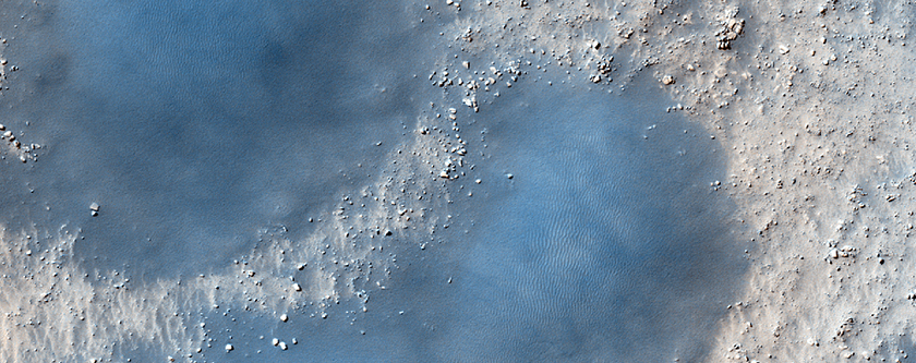 Dunes on Floor of Dokuchaev Crater