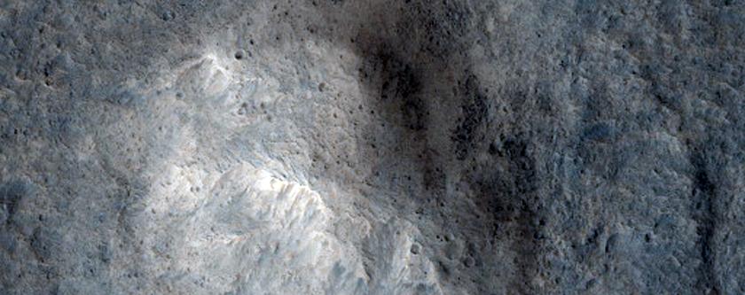 Candidate ExoMars Landing Site Near Hypanis Valles