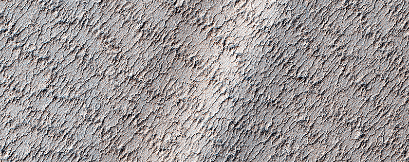 A Mysterious Bright Streak on the South Polar Layered Deposits