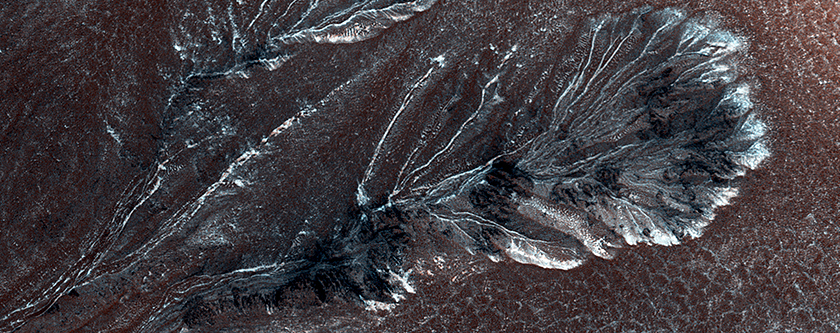 Frosty Gullies on the Northern Plains
