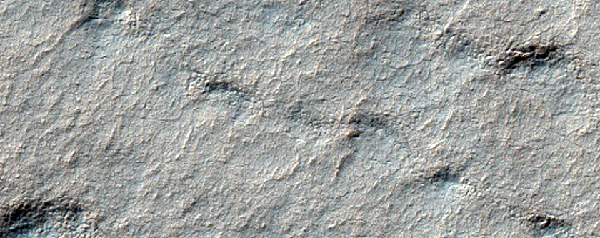420-Meter Crater on South Polar Layered Deposits