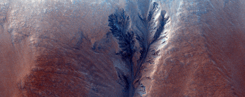 Clay-Bearing Crater in Northern Plains