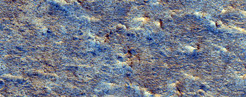 Candidate ExoMars Landing Site in Oxia Palus Region