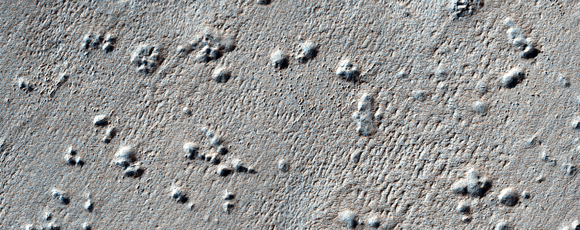 Pits on South Polar Layered Deposits