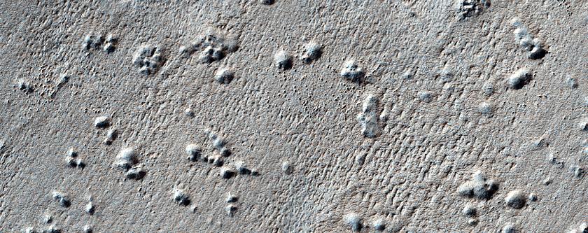 Pits on South Polar Layered Deposits