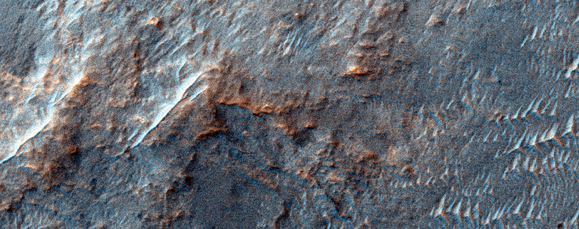 Candidate Landing Site for 2020 Mission in Kashira Crater