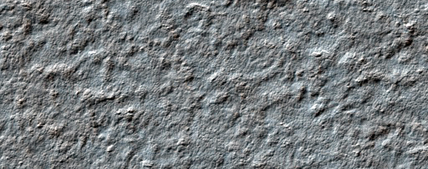 490-Meter Crater on South Polar Layered Deposits