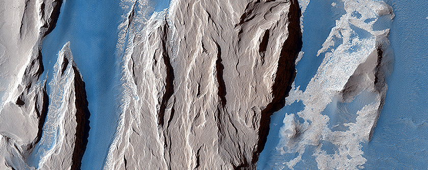 Western Medusa Fossae Formation: Dust and Dunes