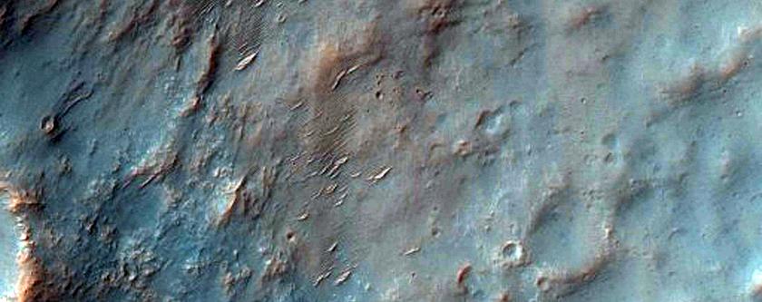 Possible Smectite Deposits in Northwest Hellas Region