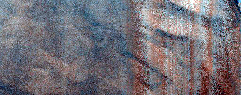 Ripple Change Detection of Unusual Sand Sheet in Southern Mid-Latitudes