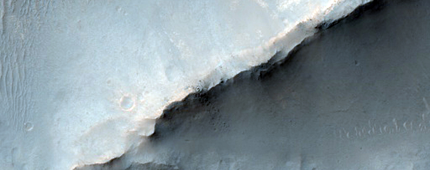 Ridges in Noachis Terra