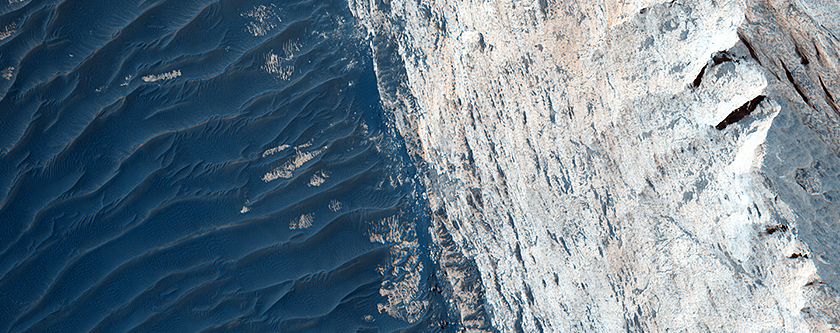 Layers and Fractures in Ophir Chasma