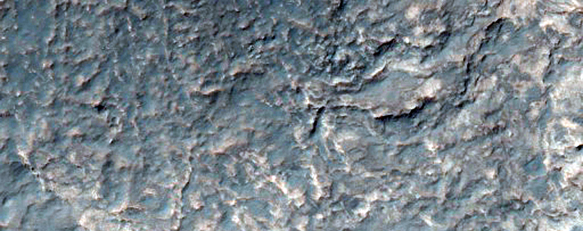 Layered Units in Northwest Hellas Planitia