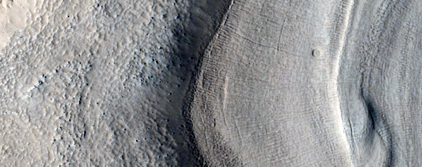 Crevasse-Like Features Utopia Region