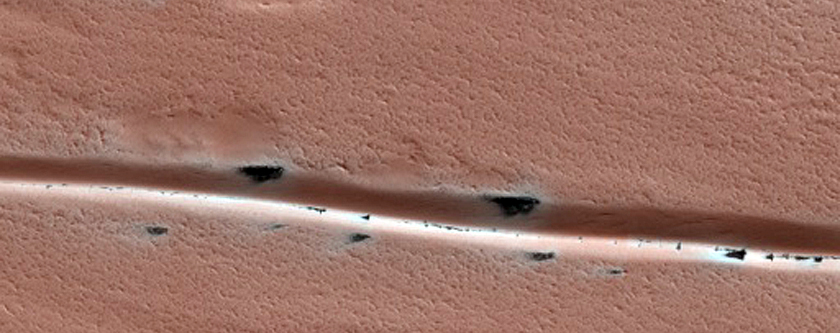Track Dune Changes in Chasma Boreale