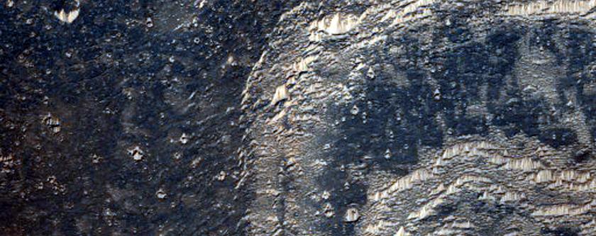 Echus Chasma Layered Deposits