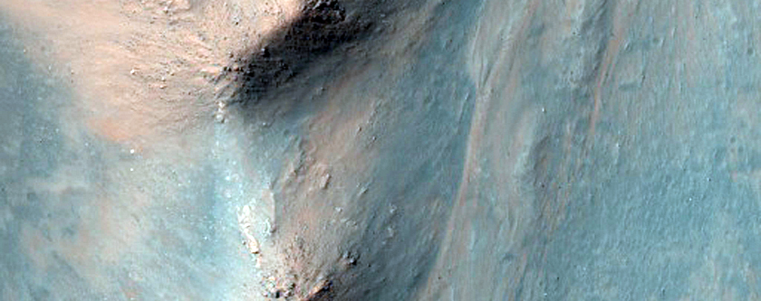 Monitor North-Facing Slope in Central Coprates Chasma