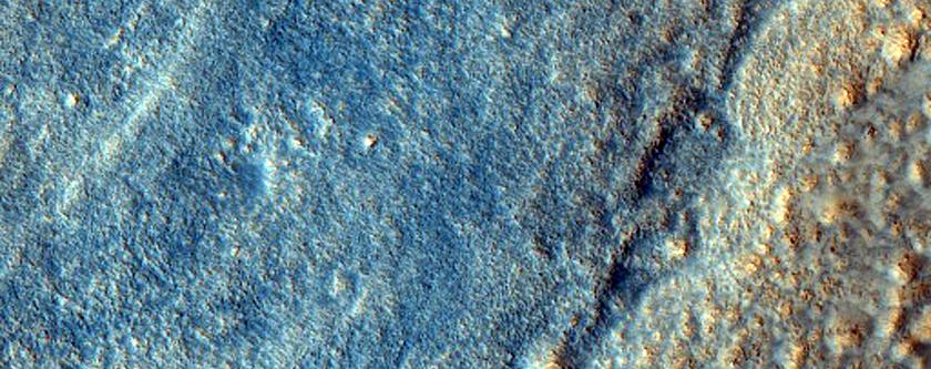 Kesweythres ynter Mesa ha Fros yn Acadilia Planitia