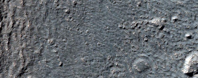 Crater Floor Features in Hellas Montes Region