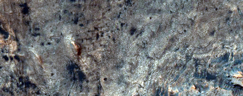 Layered Hematite Near MSL Traverse in Gale Crater