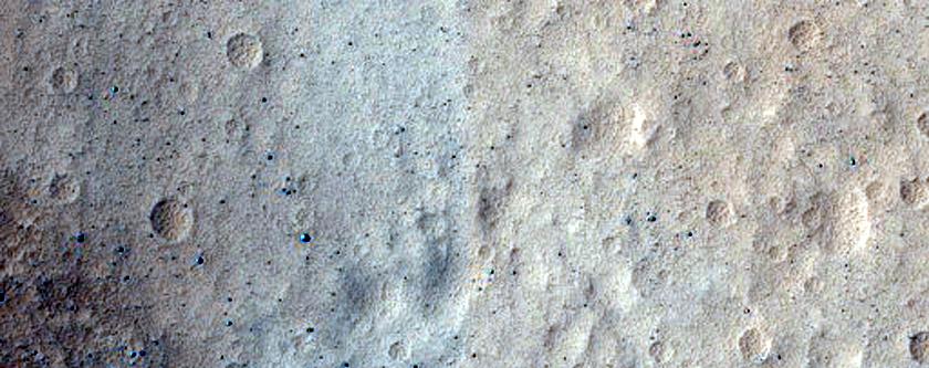 Olympus Mons Caldera Wall