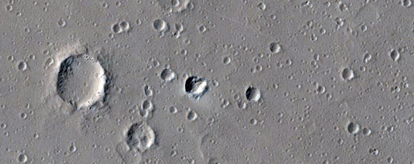 Uranius Patera Central Caldera Floor Sample
