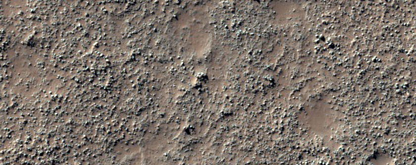 Wind-Streaked Patch in Noachis Terra