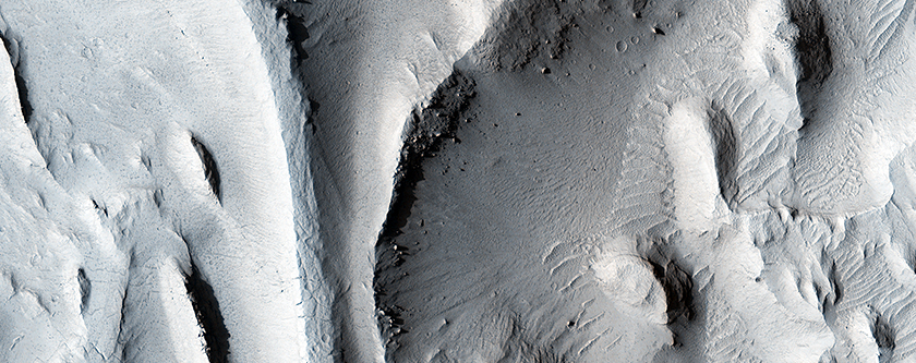 Inverted Streams in the Aeolis Region