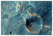 Degraded Crater Rim