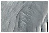 Floor Deposits in East Candor Chasma