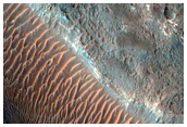 Northwestern Ladon Valles