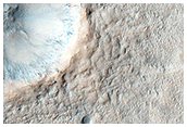 Pedestal Crater Development