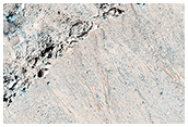 Seasonal Flows in Asimov Crater