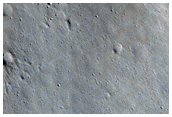 Fractures Near East Orcus Patera