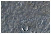 Daedalia Planum Lava Flows