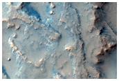 Landforms Proximal to Valley Terminus in Northern Terra Sirenum