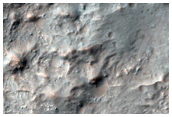 Crater with Phyllosilicates in Central Peak